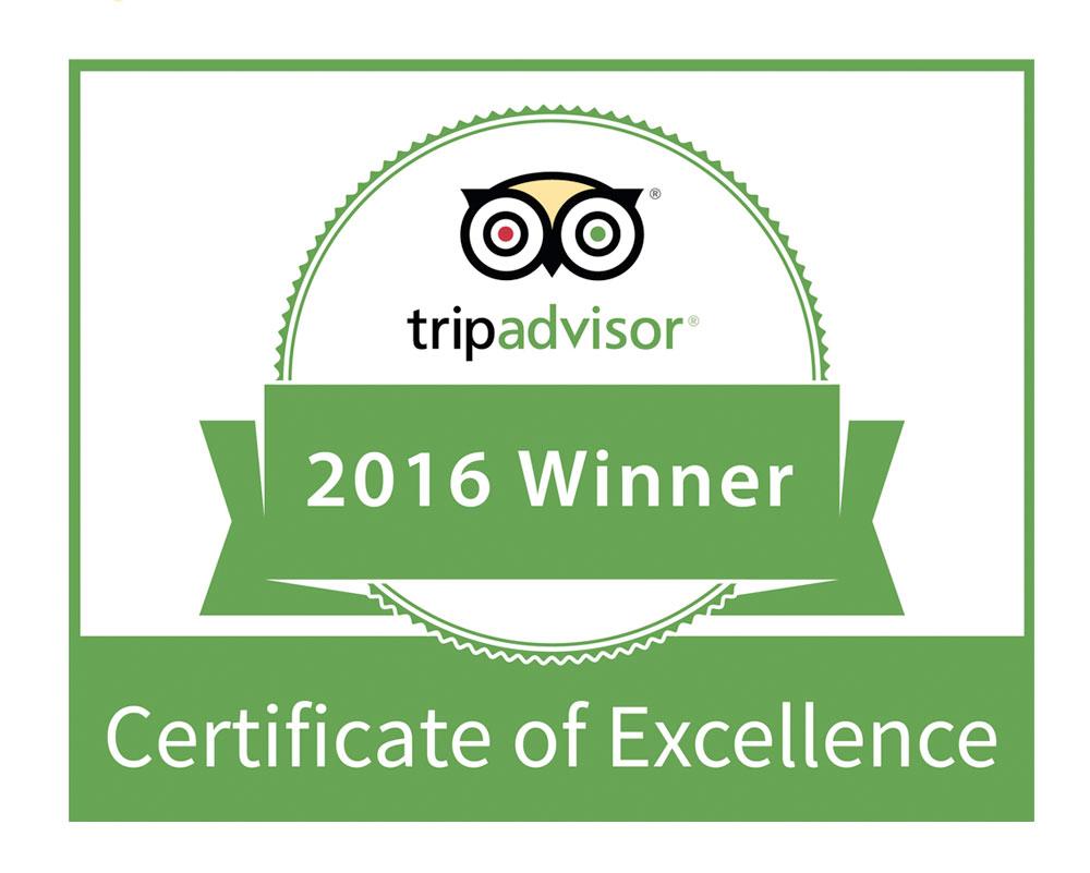Le Mirage Earns 2016 Tripadvisor Certificate Of Excellence Le